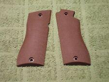Custom Grips for Star BM, BKM Fully Checkered Chocolate Brown