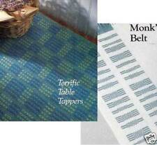 Handwoven's Design Collection 10: tablecloths, placemats, TERRIFIC TABLE TOPPERS