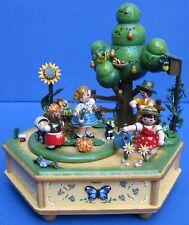 Music Box Hari our Small Garden Game Box Erzgebirge Bonus come Dear may