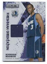 Rodrigue Beaubois R&S,Freshman Orientation Material Card,#23,Panini,#278 of 299