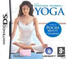 Videogame Il mio Personal Trainer di Yoga NDS
