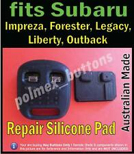 fits Subaru Forester Liberty Outback Impreza remote - Repair 2 key buttons Pad