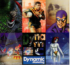 1995 Dynamic Trading Cards Series promo mini sheet