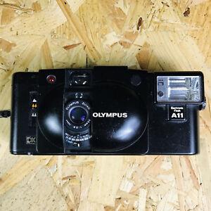 Classic Tested Olympus XA3 Camera + Flash