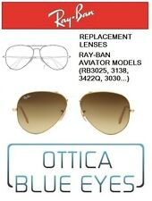 Lenti di Ricambio RAYBAN AVIATOR MODELS Replacement Lenses Ray Ban RB3025 85 BRO