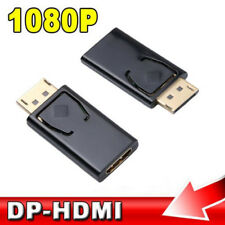 Display Port DP Male to HDMI Female Converter Cable Adapter For HDTV PC 1080p