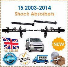 pour VW TRANSPORTER T5 2003-2014 2 AVANT & 2 arrières Shockers AMORTISSEUR NEUF