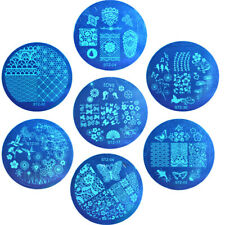 Nail Stamping Plates Templates Totem Butterfly DIY Manicure Printing Stencil