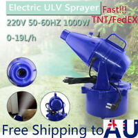 4L Electric ULV Mosquito Fogger Intelligent Ultra Low Capacity Sprayer Killer AU