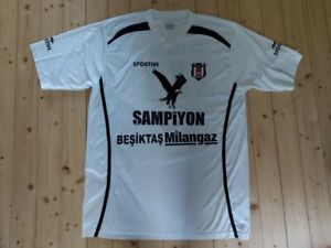 GAME USED Triple Champion Besiktas Milangaz Turkey CARLOS ARROYO warmup shirt XL