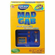 Mad Gab ~ Travel Card Game by Mattel NEW