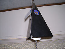 "8"" x 5"" Rustic Triangular Handmade in Montana Us Metal Windchimes. Made To Last"