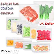 Alimentaire sac de rangement réutilisable Congélateur Sac PEVA ziplock cuisine e...