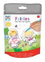 Make Your Own Figurines Kids Children Fairies Set Art Crafts Plaster Of Paris