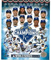 Kansas City Royals World Series Parade Photo Framed Size: 12.5 x 15.5