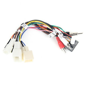 Dasaita Canbus Power Cable For Toyota Factory Radio With JBL Amplifier or Cam~