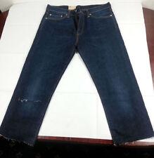 Indigo, Dark wash Regular Jeans Men's 34L Tapered