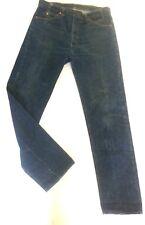 Vintage LEVIS 505 Orange Tab 20505 0217 Denim Jeans 36 x 33 MADE USA dark wash