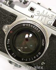 Rare Zorki-3M with Jupiter-8 lens RF film camera.Exc,repaired.№5555506