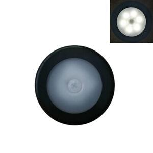 1-3Pcs LED Wireless PIR Motion Sensor Battery Powered Night Light Wall Lamp US