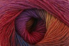 Rico Poems 4 ply  Sock Knitting Yarn shade 2 - multi coloured  - 100g