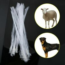 10xDisposable Artificial Insemination Rods Breeding Catheter Tube Dog Sheep Goat