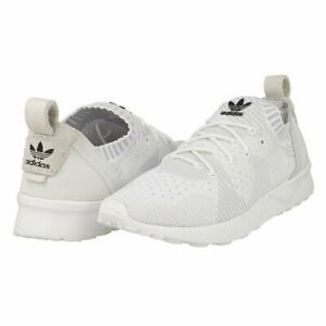 ADIDAS ZX FLUX AD VIRTUE PK WOMENS TRAINER UK SIZE 5.5 WHITE - LAST PAIR