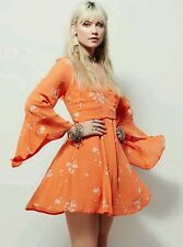 NEW Free People Jasmine Embroidered Dress Size 4 Retails for $148