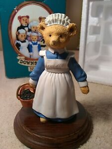 Dept. 56 The Upstairs Downstairs Bears Polly The Little Kitchen Maid w/ Tags !!!