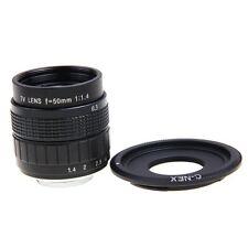 Fujian 50mm F1.4 CCTV TV Movie lens+C Mount to Sony Nex-5T N-3N N6 N7 N-5R A6000