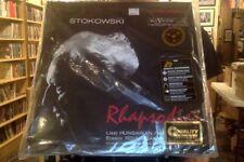 Stokowski Liszt Enescu Smetana Rhapsodies 2xLP 45 RPM vinyl Analogue Productions
