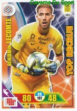 503 BENJAMIN LECOMTE MONTPELLIER.HSC TOP RECRUE CARTE ADRENALYN 2018 PANINI