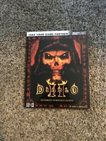 Diablo 2 Ultimate Strategy Guide Book Vintage Official Brady Games Mature PC