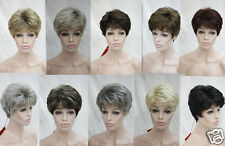 2016 vogue women's short wavy synthetic full wigs everyday /ten-colors selection