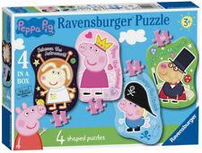 Peppa Pig Ravensburger Shaped Four shaped Floor Puzzles Set