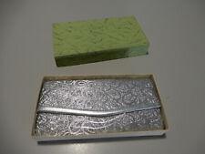 Vintage Silver Thread Handbag / Evening / Cocktail Bag / Purse In Original Box!