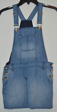 Liu Jo Junior Girls Denim Overalls Skirt - Size: 10A (140cm) Made in Turkey NWT