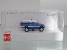 Busch 8378 - ESCALA N 1:160 - Land Rover Gendamerie - Nuevo en EMB. orig.