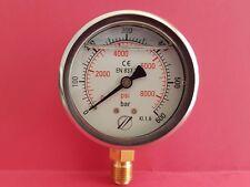 Manomètre 600 bar haute pression