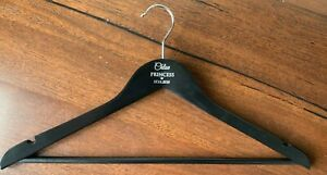 Coat Hangers (5) -Black Laser Engraved Gold or Silver Fill (Weddings)
