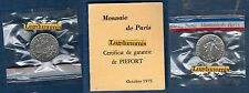 Piéfort - 50 Centimes Semeuse 1975 RARE 150 Exemplaires FDC Euro PIEFORT