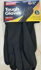 Tough Gloves Rubber (HEAVY DUTY)  1 Pair Large