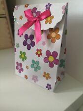 10PCS childrens Party bag /Wedding Favour/celebration Gift Bags /Boxes Flower
