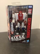 Hasbro Transformers Generations War for Cybertron Deluxe WFC-S35 Red Alert Acti?