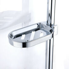 Metal Soap Dish Replacement for Bathroom Accessory Universal Holder Rail Slide