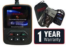 PORSCHE DIAGNOSTIC SCANNER TOOL Code Reader Reset Erase Fault 911 iCarsoft i960