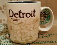 Starbucks Coffee City Mug/Tasse DETROIT, Global Icon Serie, NEU und unbenutzt!!