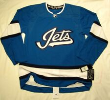 WINNIPEG JETS size 46 = sz Small - 3rd Style ADIDAS NHL HOCKEY JERSEY Authentic