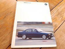 Brochure press-kit info presse prospekt new BMW M5 1992 / english