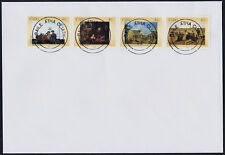 Ireland 1427a on FDC - Art, Paintings, National Gallery, Horse